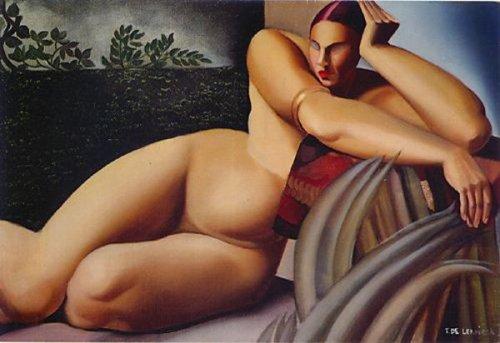 Nude On A Terrace