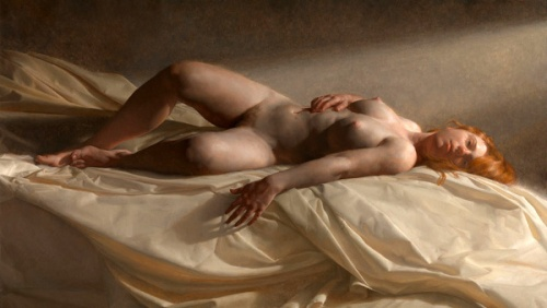 Reclining Nude Morning