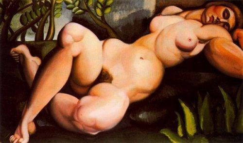Reclining Nude - The Sleeping Girl