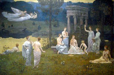 Le bois sacré aux Muses