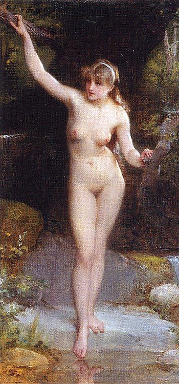 la-baigneuse