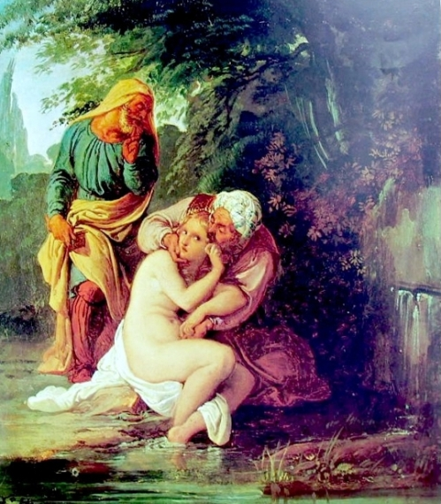 Susanna tra i vecchioni