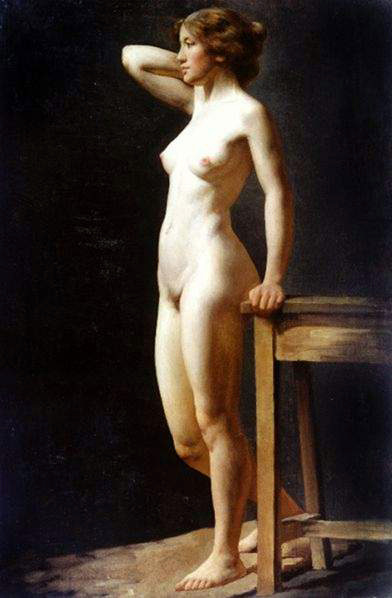 Shy girls nude photo