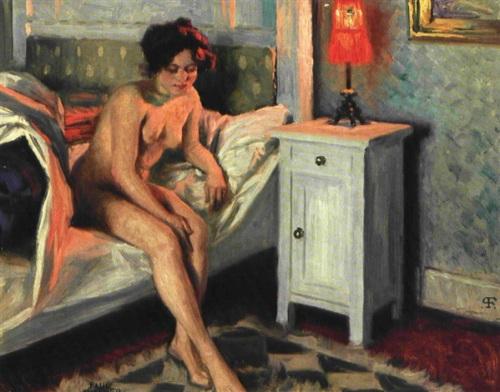 Model In Bed