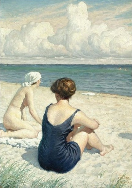 Women On The Beach At Falsterbo