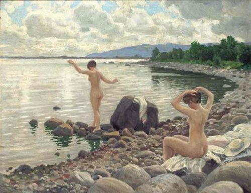 Young Bathers