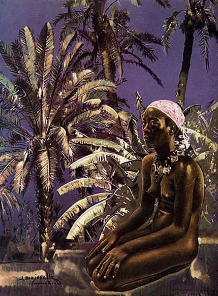 Dans les palmeraies - African Nude