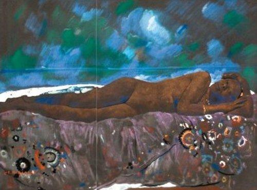 Fatima - Femme nue allongée