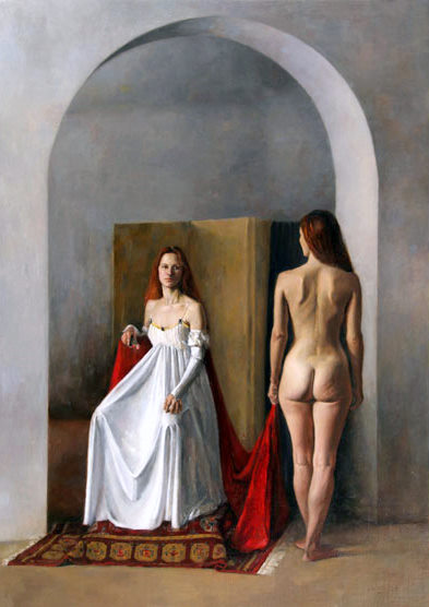 Image result for sacred and profane love in painting