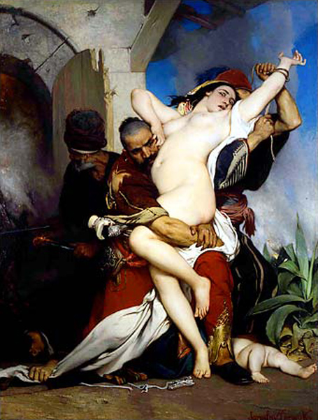 The Abduction Of A Herzegovenian Woman
