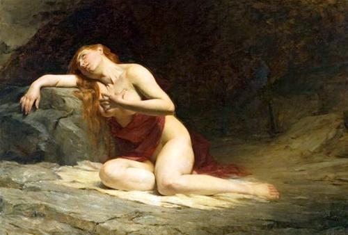 Magdalena en penitencia