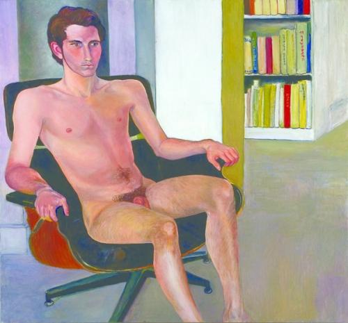 Max Warsh Seated Nude