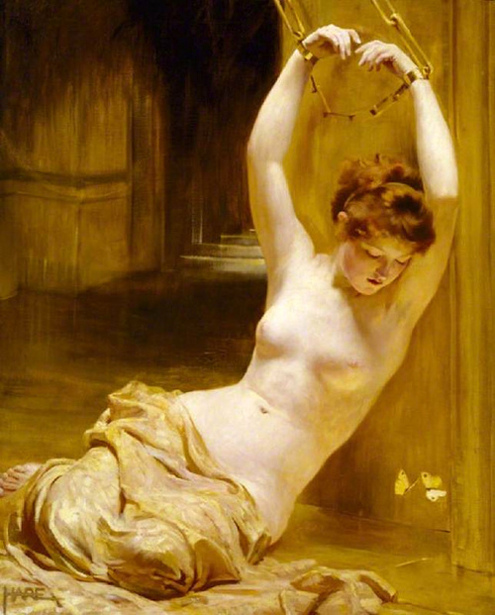 St.George Hare - The Giled Cage - A Female Captive