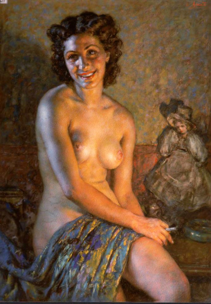 Luigi Amato - Nudo con effetto luce.bmp