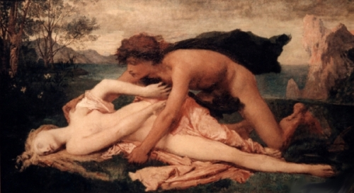 The Death Of The Nymph Hesperia