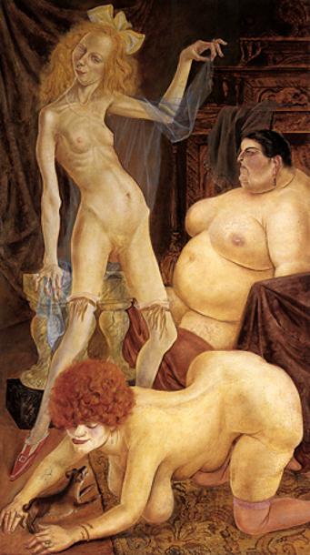 Otto Dix, akt, akt kobiecy i portret