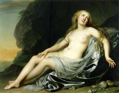 Ariadne On The Beach In Naxos