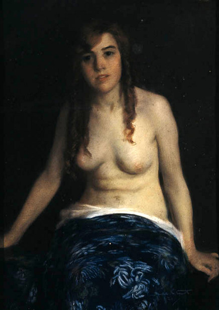The Blue Shawl