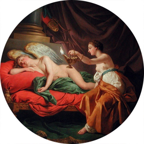 Psyche Surprises Sleeping Love