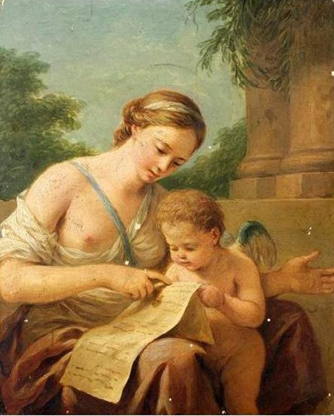 Venus Teaching Love To Read