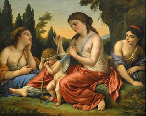 Venus Ties The Banner Of Love
