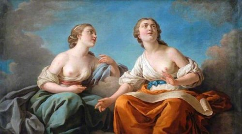 Two Muses - Allegory Of The Five Senses