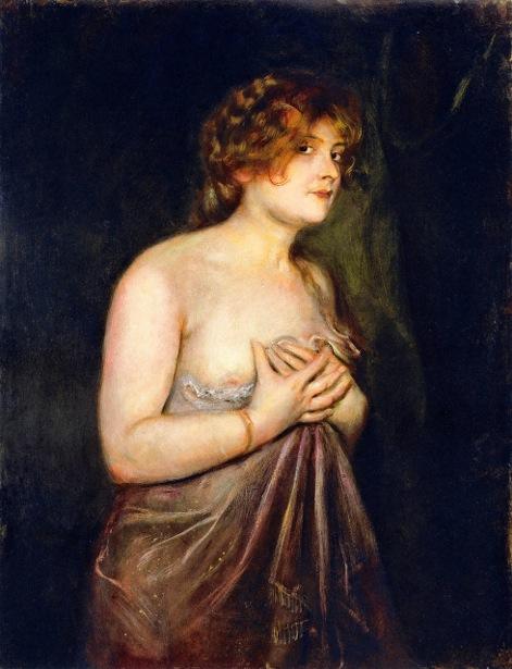 Half Nude - Fraulein Guschlbauer