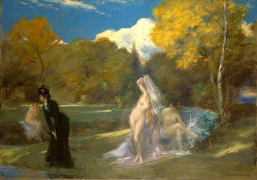 Les baigneuses de Fontainebleau