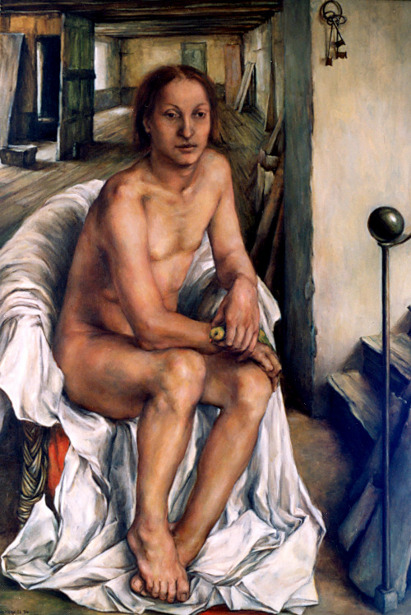 Male Nude In Chair