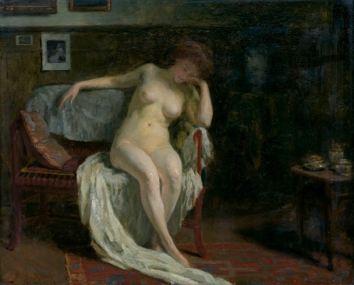 Nude In Interior