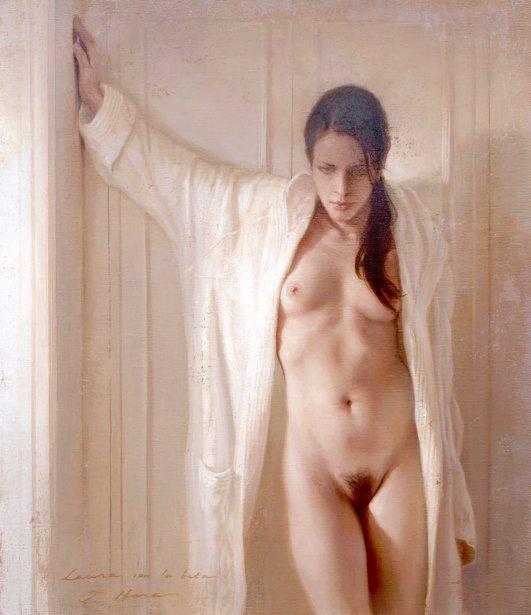 Nude Bathrobe 87