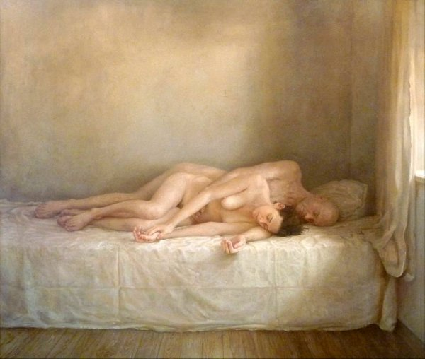 Remarkable, Nude couples sleeping methods consider