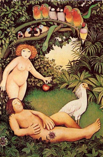 Adam And Eve Paintings Fine Art America