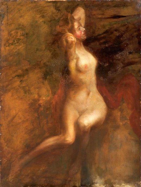 light skin dreads naked