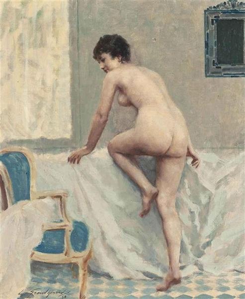 Lucien Henri Grandgerard - L'heure du bain