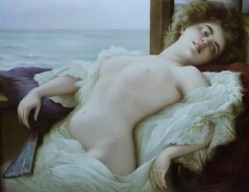 Semi Nude Portrait