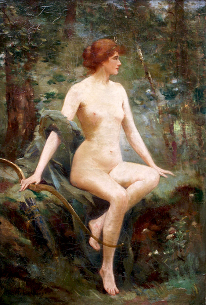 Diana In The Forest