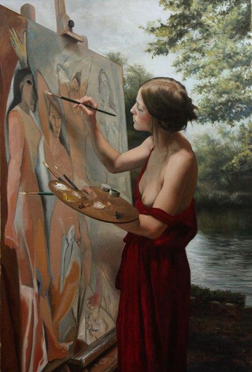En Plain Air Painting