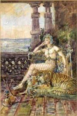 La princesse au tigre