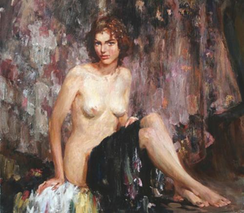 Nude - A Model
