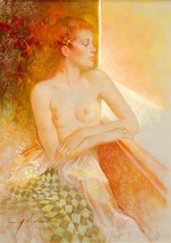 Desnudo junto a la ventana