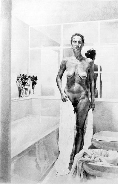 Figura nel bagno