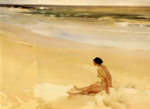 Julia Amid The Sands