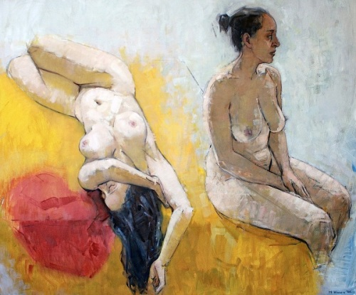 Mery (Two Figures)