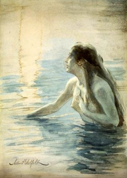 Nude In The Water