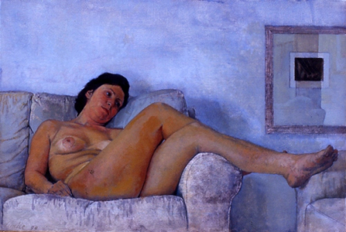 Nudino e divano