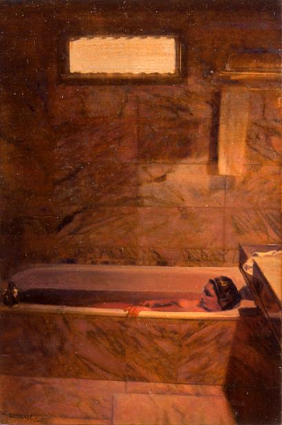 Nudo nella vasca