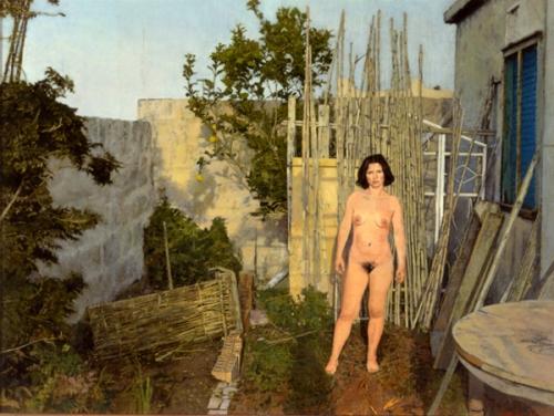 Nudo nell'orto 2