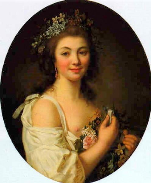 Portrait presume de Madame de Genlis