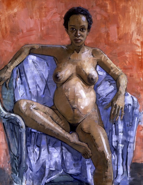Pregnant Nude (Iliana)